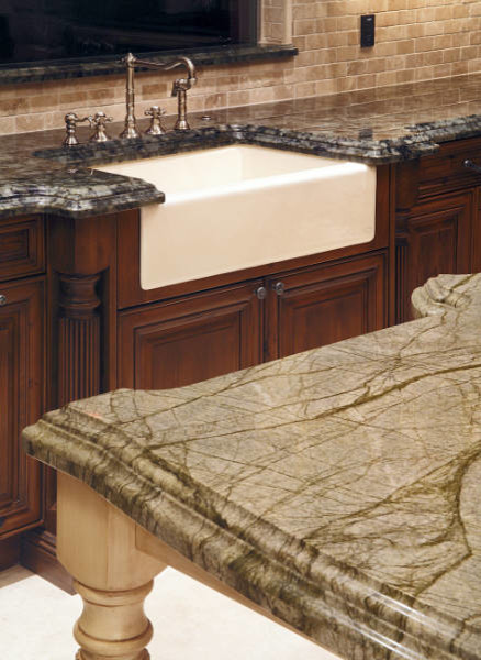 Double Ogee Edge Profile - Traditional - Kitchen - Phoenix - by Accent ...
