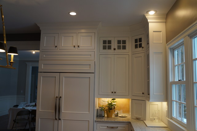 Double Row of Upper Cabinets - Traditional - Kitchen - boston
