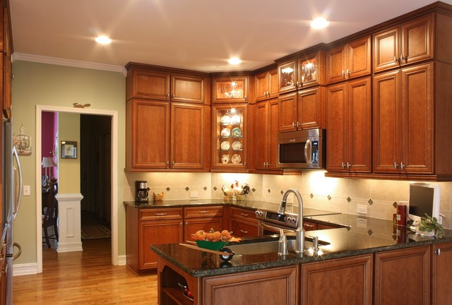 Double stacked cabinetry - Eclectic - Kitchen - atlanta ...