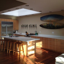 Custom IKEA Kitchen in Douglas Fir