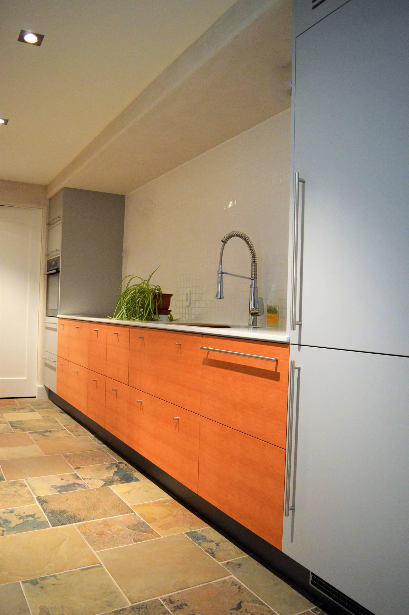 Douglas Fir Kitchen and Servery