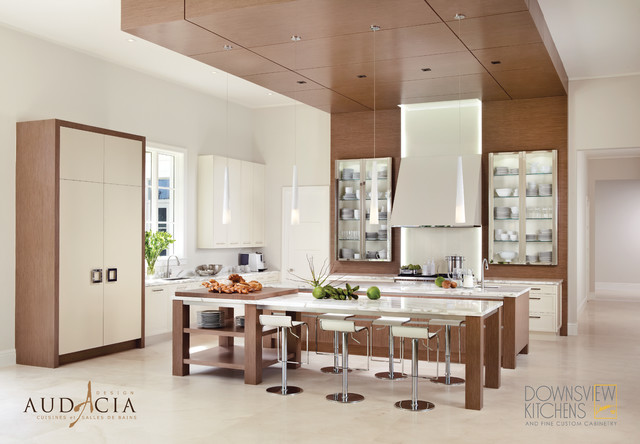 Downsview Kitchens - Audacia Design Exclusive Montreal Dealer modern-kitchen