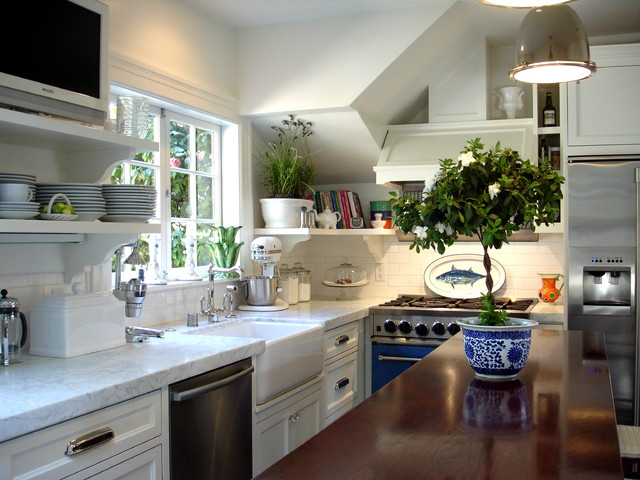 Downtown Mill Valley traditional-kitchen