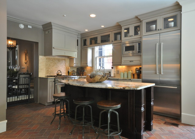 historic kitchen design. Downtown Mobile  Alabama Historic Home Kitchen Remodel traditional kitchen