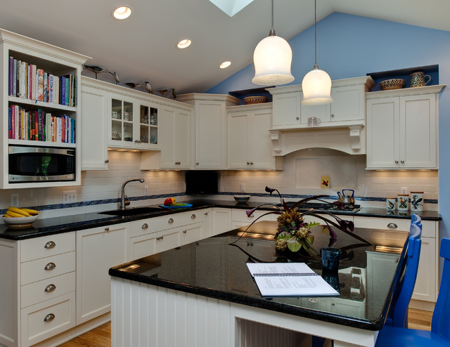 Downtown Northville Kitchen & Laundry Room traditional-kitchen