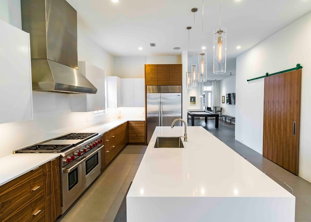 Downtown Pensacola - Zarragossa - Contemporary - Kitchen - Other - by CDC Woodworking
