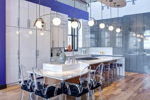 S&K Interiors Contemporary Kitchen