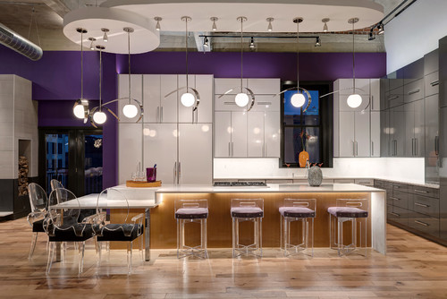 Contemporary Kitchen by S&K