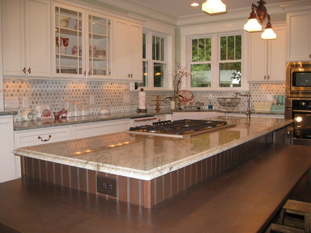 downtown raleigh kitchen remodel - southern charm traditional-kitchen