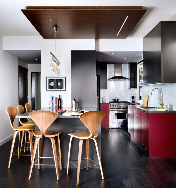 downtown toronto condo modern kitchen toronto by toronto rh houzz com modern small condo interior small modern condo decor