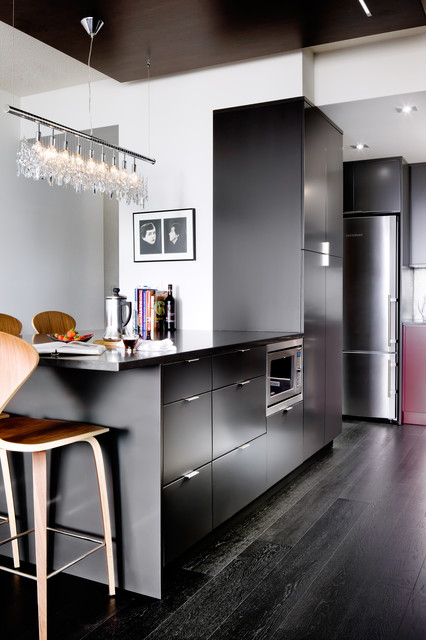 Downtown Toronto Condo Modern Kitchen Other Metro By Toronto Interior Design Group