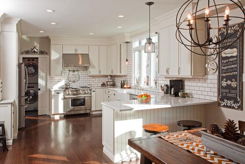 Transitional Kitchen by Wyncote Architects & Building Designers JFA Architecture