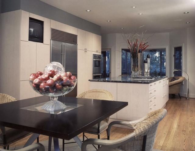 Dramatic Modern Kitchen Contemporary Kitchen Atlanta By Ross Design Inc