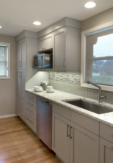 Dravus Street Residence traditional-kitchen