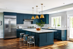 New This Week: 6 Beautiful Blue Kitchens