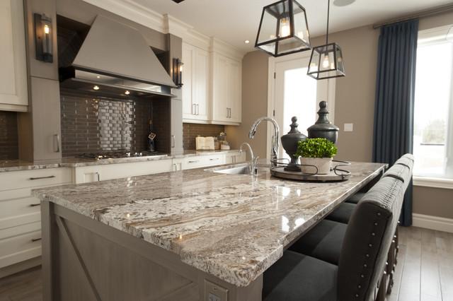 Great Dream Home Granite Countertop Traditional Kitchen