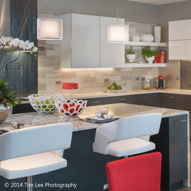 Dream Kitchen Featured In Westchester Magazine S Dream Home Penthouse Contemporary