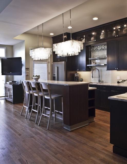 Dreamy Bucktown Makeover contemporary-kitchen