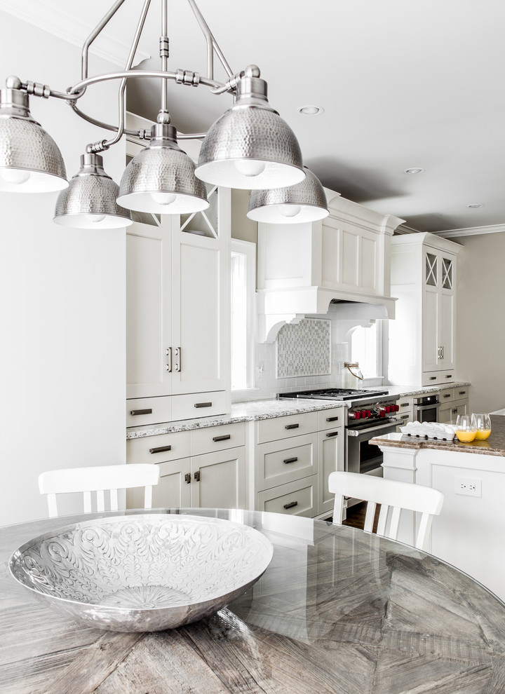 Example of a kitchen design in New York