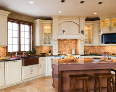 Dreamy Creamy Kitchen traditional-kitchen