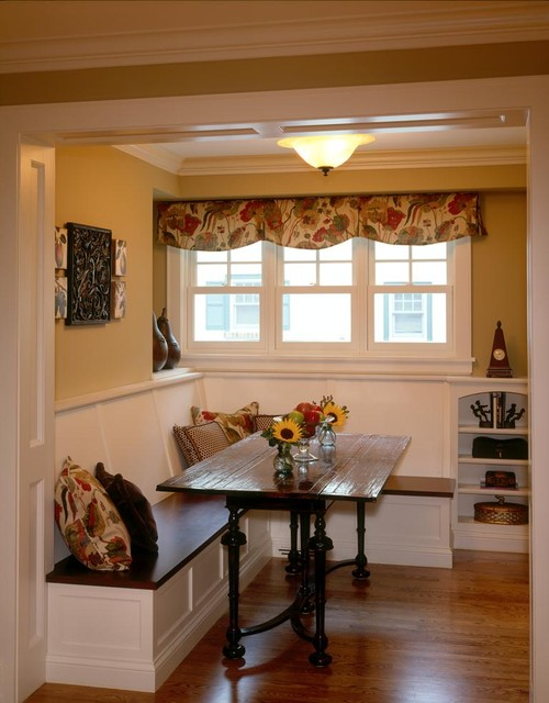 country kitchen new hope mn drexel avenue residence breakfast nook traditional 8450