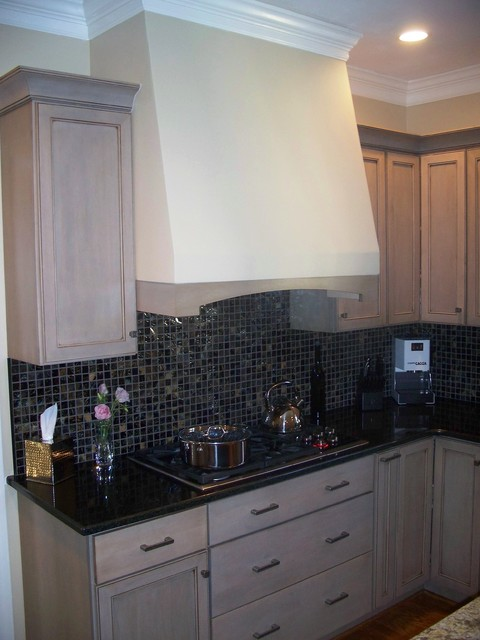 Driftwood Gray - Traditional - Kitchen - wilmington - by Shoreline Cabinet Company