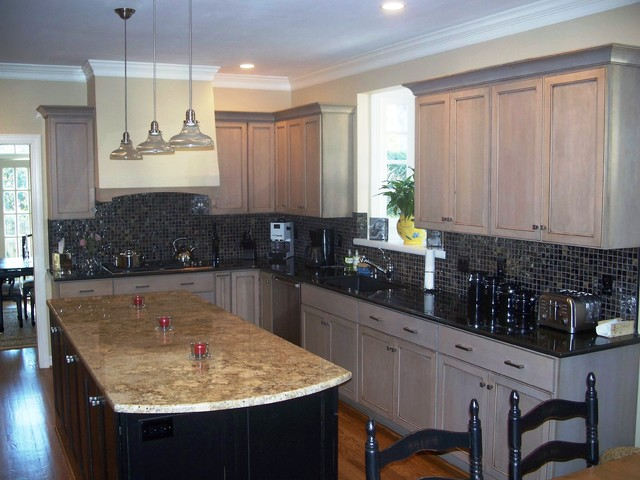 Driftwood Gray Traditional Kitchen Wilmington By