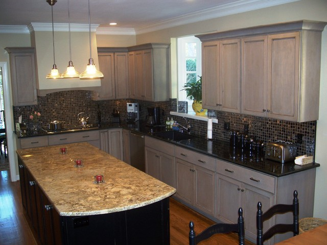 Driftwood Gray Traditional Kitchen Wilmington By Shoreline