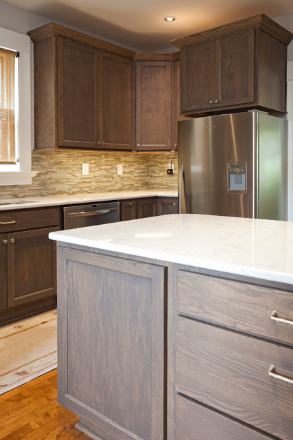 Driftwood Kitchen - Transitional - Kitchen - minneapolis - by The Cabinet Store
