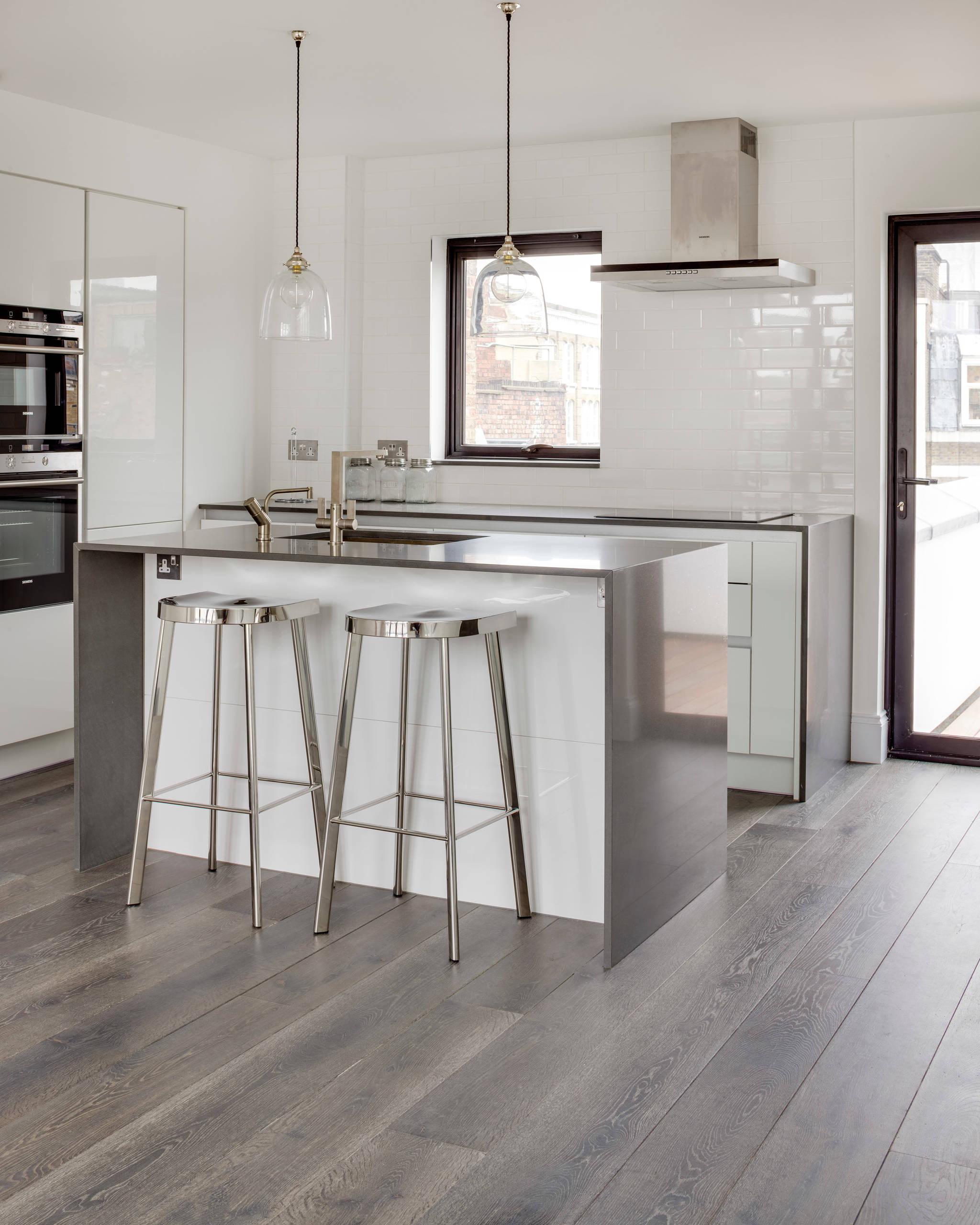 Grey Kitchen Floor   Houzz