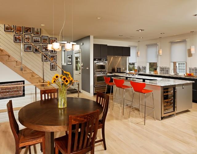 Drummond Modern Transitional transitional-kitchen
