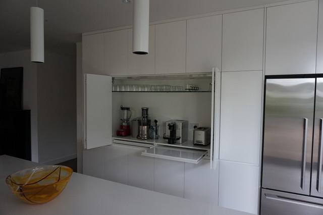 Drummoyne modern kitchen sydney by interiors infocus