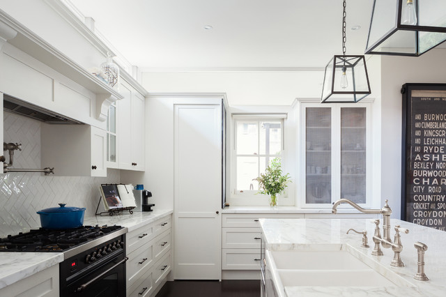 Drummoyne Residence - Kitchen & Laundry transitional-kitchen