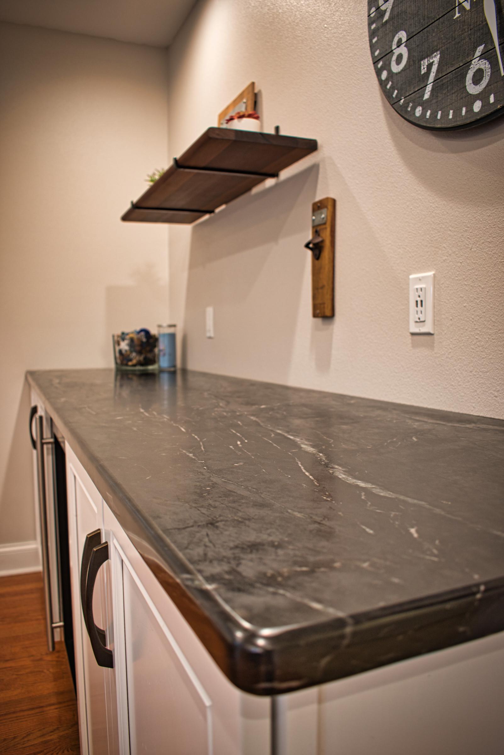 Dry Bar Countertop - Soapstone
