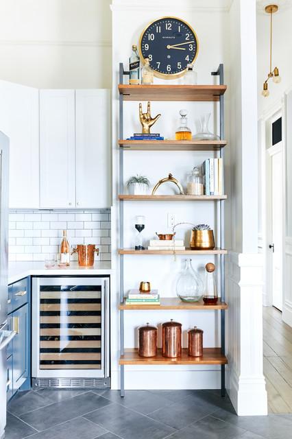 Kitchen Design 11x13 Room: Kitchen Detail Of Wine Cooler