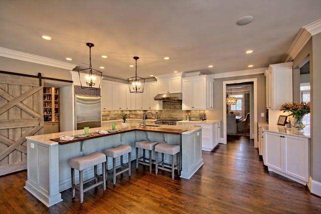 Duluth House Remodel Country Kitchen Atlanta By Csi Kitchen Bath Studio