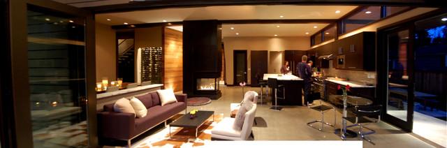 Dumas Residence contemporary-kitchen