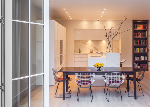 Dumbarton Street NW Washington DC modern-kitchen