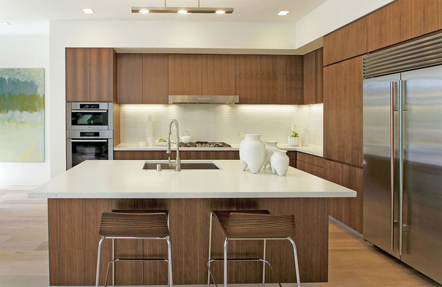 walnut kitchen modern kitchen san francisco by
