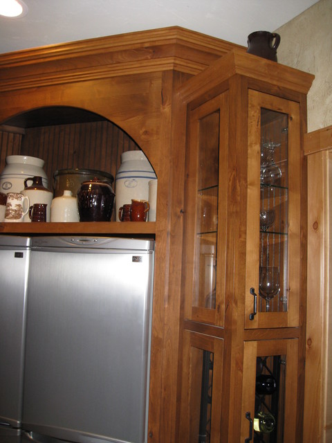 Dunafon Tree House traditional kitchen