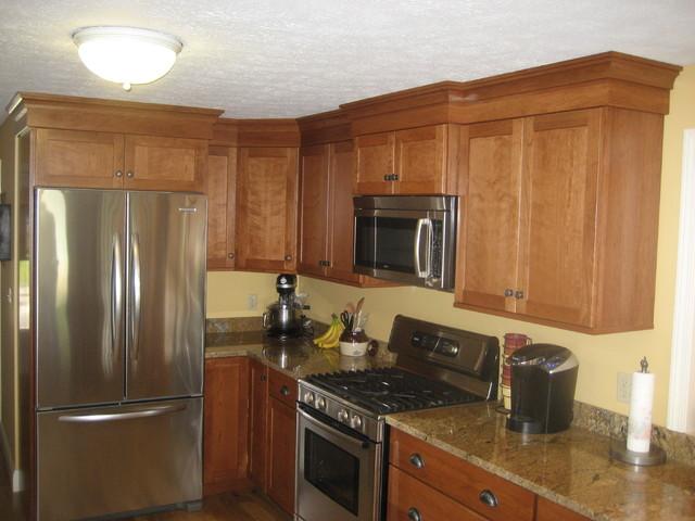 Dunbarton Drive Kitchen, Merrimack traditional-kitchen