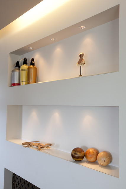 Duplex appartment contemporary-kitchen