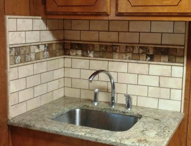 durango antico onyx backsplash traditional kitchen