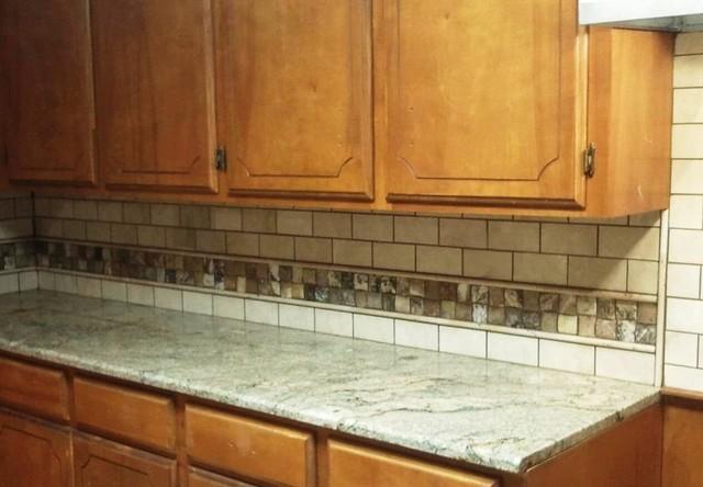 onyx backsplash traditional kitchen little rock by f l tile