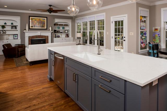 Durham Kitchen Remodel Transitional Kitchen Raleigh By Cederberg Kitchens Additions