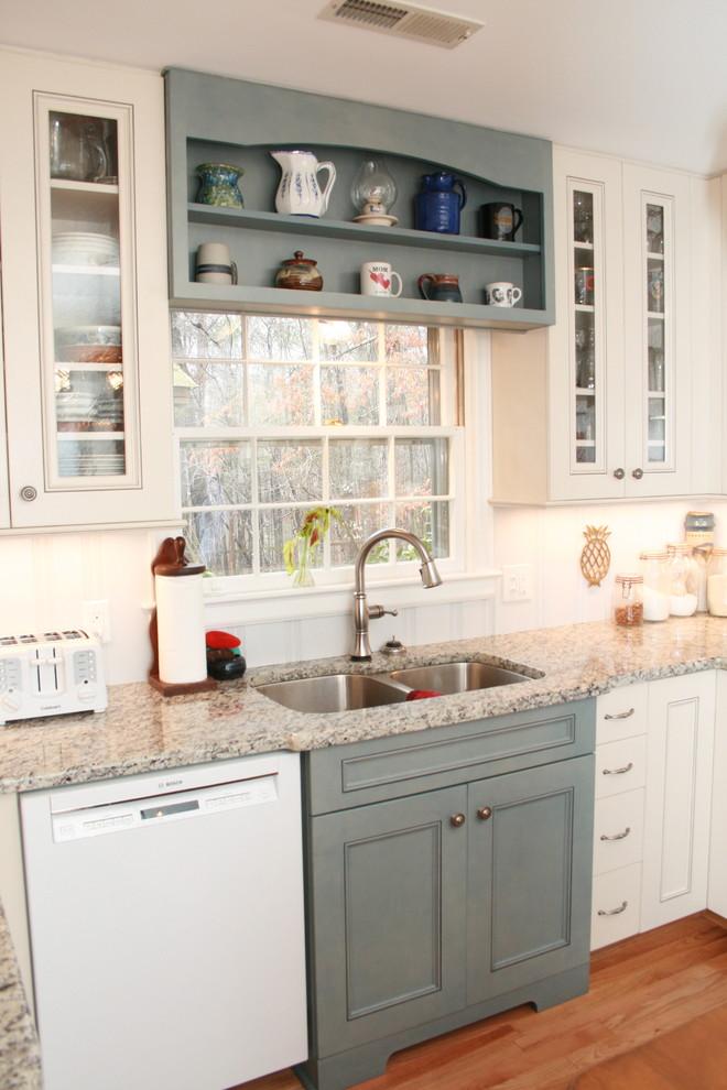 Durham Ranch Home Kitchen Remodel - Farmhouse - Kitchen ...