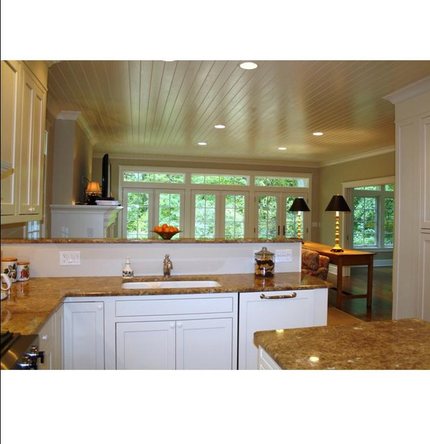 Kitchen Classical Colonial Kitchen Design With Island For: Dutch Colonial