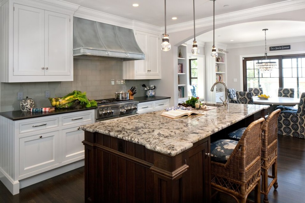 Inspiration for a timeless kitchen remodel in Santa Barbara