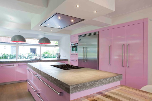 DUTCH Kitchens: TRANSITIONAL style contemporary-koek