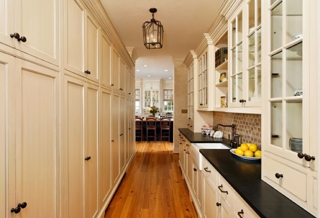Dutch Made painted inset cabinetry traditional-kitchen